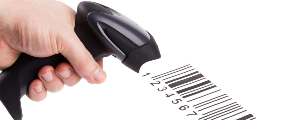 Software om barcodes te scannen